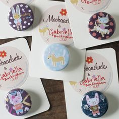 Party Bag Or Stocking Filler Badges - women's jewellery