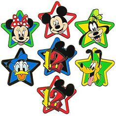 Mickey, Minnie, Pluto and Red Twelve