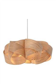 Buy Wood Veneer Pendant from the Next UK online shop  £18
