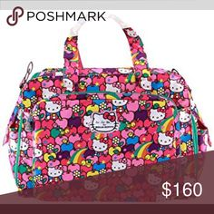 cfed13a27b37 NWT JUJUBE BE PREPARED HELLO KITTY DAIPER BAG NWT jujube hello kitty diaper  bag in lucky stars print. Price is firm! JuJu Bags Baby Bags