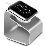 Besegad Aluminium Alloy Charging Charger Cradle Station Display Stand Holder For Apple Watch I Watch Serie 1 2 I Ii Watch For Iphone, Android Watch, Apple Watch Charging Stand, Smart Watch Review, Camera Watch, Cosmetic Display, Fossil Watches, Wearable Technology, Docking Station