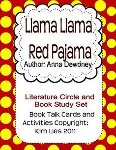 6ba317cdc5 Ms-Lies. Llama Llama Red PajamaWriting ...