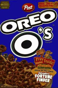 Oreo O's | 26 Cereals From The '90s You'll Never Be Able To Eat Again I loved this one of my favorite 90's cereal