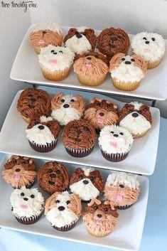 Puppy Birthday Cakes, Puppy Birthday Parties, Puppy Party, Birthday Party Themes, Birthday Decorations, Birthday Cake For Baby, Dog Parties, 9th Birthday Cake, Doggy Birthday