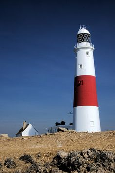 Lighthouse at Portland Bill, UK (1906)