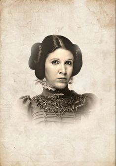 Any Three Vintage Victoria Star Wars Portrait by CreativeSpectator