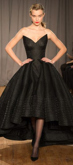 Hey, Barb, does this remind you of something?  Zac Posen RTW Fall 2014