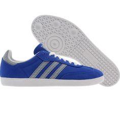 Adidas Womens Samba shoes in labblu and runninwhite Samba Shoes, Adidas Samba, Nice Things, Adidas Women, Ballet Flats, Adidas Originals, Trainers, Adidas Sneakers, Kicks