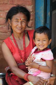 Family picture Kathmandu