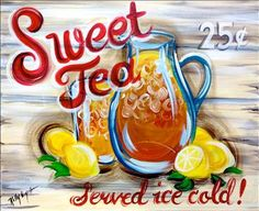 NEW! Sweet Tea - San Antonio (Northwest), TX Painting Class - Painting with a Twist