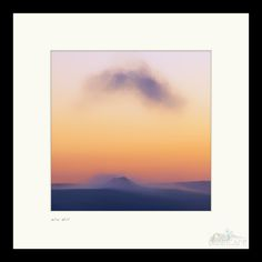 New to TheLittleSquares on Etsy: Win Hill - Square Framed Mountain Peak District Sunrise Landscape Print Wooden Frame (4.99 GBP) #wallart #photography #uk #landscapes #nature #print #framed #image #pretty #natural #photographer #style #display #explore #floral #wall #art #uk #yorkshire #original #creative #outdoors #display