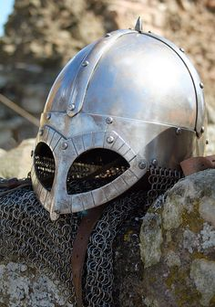 Viking Helmet by ejways, via Flickr
