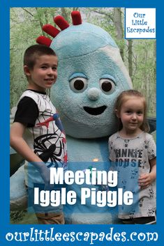 Meeting Iggle Piggle at In The Night Garden Live - Igglepiggle