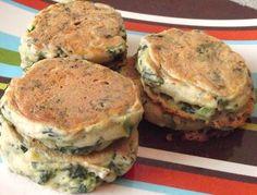 Ten best Vegan Blogs - Savory spinach pancakes Vegan Mother Hubbard