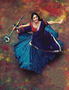 Meera drenched in colours. The History of India. Love for Krishna. Indian Dresses, Indian Outfits, Saris, Indiana, Bollywood, Indian Classical Dance, Vogue India, We Are The World, India Beauty