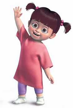 "48. Mary Gibbs as Boo (""Monsters Inc."")"