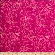 Swimwear Knit Floral Hot Pink/White