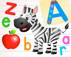 Menu Free Alphabet Practice A-Z Letter Worksheets to Learn Kids. Alphabet Writing Worksheets, Alphabet Tracing, Preschool Writing, Kindergarten Learning, Kindergarten Math Worksheets, Preschool Letters, Tracing Worksheets, Alphabet Coloring, Preschool Learning Activities