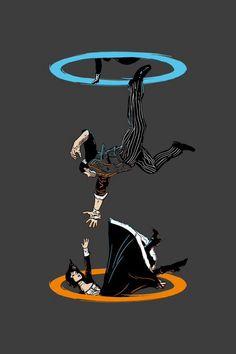 Bioshock / Portal mash.