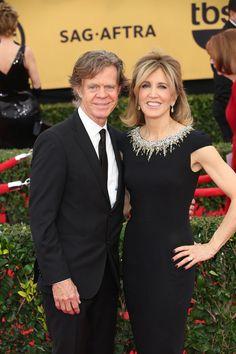 William H Macy & Felicity Huffman - SAG Awards 2015. Both look great. And SO glad he finally got his award!