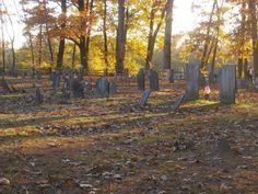 Beautiful old cemetery in Historic Deerfield.