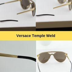 7f3a4229511 Versace Glasses and Sunglasses Frame Repair. Eyeglass Repair USA