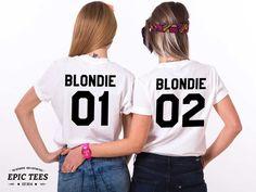 Blondie 01 Blondie 02 Blondie Hemden Bff Shirts von EpicTees4You