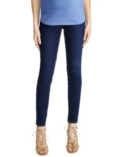 43f357297778e Secret Fit Belly 5 pocket skinny leg maternity jeans by Jessica Simpson  available at Destination Maternity | The Ultimate Winter Guide to Styling  Your Bump