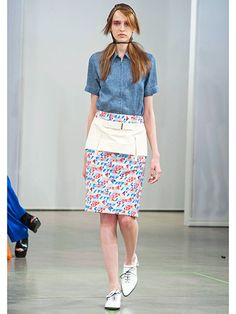 BCBG Spring 2013 Runway - Best Trends from Spring 2013 Fashion Week - Marie Claire
