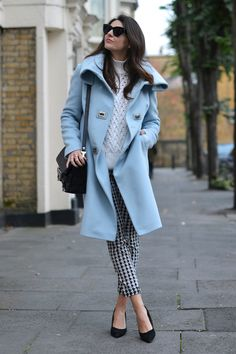 How to Wear The Houndstooth Print