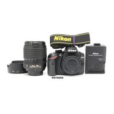 The #Nikon D3200 Bundle is the perfect entry-level Bundle. #photography #documentyourdays Nikon D3200, Nikon Battery, Used Cameras, Camera Equipment, Entry Level, Binoculars, Body, Photography, Photograph