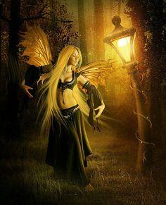 Fantasy by ElenaDudina on DeviantArt Fairy Dust, Fairy Tales, Print Image, Love Fairy, Gnome, Beautiful Fairies, True Blood, Magical Creatures, Fantasy Artwork