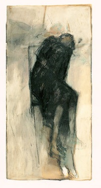 Betty Goodwin, Figure with chair no 1, 1988
