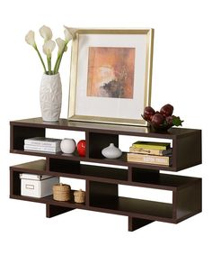 Look at this Cube Bookcase TV Stand Entertainment Center on #zulily today!