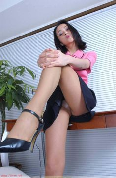 "Work hours have just ended and your secretary orders you to your knees. ""Who is the boss now, sissy boy?"""