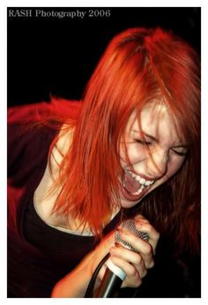 Paramore's Hayley Williams in 2006