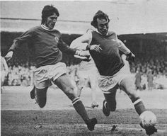 February Newcastle United duo John Tudor and Malcolm MacDonald finding their avenue to the Hereford United goal closed during their FA Cup Round replay. Manchester United Legends, Manchester United Football, Manchester City, Malcolm Macdonald, Class Games, Old Trafford, Fa Cup, Leicester, Newcastle