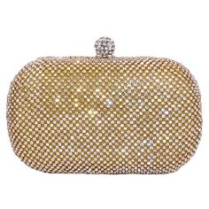Glamour Evening Bag Crystal Hard Case Clutch Handbag Purse for Women with Detachable Chains, Gold CB Accessories http://www.amazon.com/dp/B00C5VZ1PG/ref=cm_sw_r_pi_dp_4kTbxb0AWY7NJ
