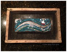 Headway by Anne Marie Price #mosaic #art #inspiration #sailboat #ocean #wave #sailing www.ampriceart.com