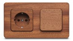 Silvaluxe - wooden socket