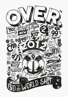 OVER 2012 | Designer: Marko Purac - http://www.flickr.com/photos/sepra4life/