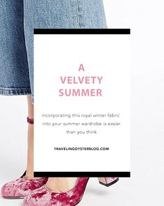 A new must read blog post up about one of my favourite new summer trends! Click on the link to read more or repin to save for later. :)