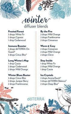doTERRA Winter Diffuser Blends with Helpful Recipes - Best Essential Oils - - Here you can learn about doTERRA Winter Diffuser Blends. These will help you make it through the dismal winter. They center around New Year's resolutions. Essential Oil Uses, Doterra Essential Oils, Doterra Blends, White Fir Essential Oil, Cedarwood Essential Oil, Essential Oil Candles, Young Living Oils, Young Living Essential Oils, Limpieza Natural