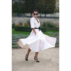 @tinaleung at #tuleries after #valentino show • #tinaleung #harpersbazaar #pfw #pfwss14 #ss14 #fashionweek #parisfw #fashion #streetstyle #streetfashion #theoutsiderblog #diegozuko