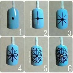 Step by Step Diy Acrylic Nails, Matte Nail Art, New Nail Art, Nail Art Diy, Cool Nail Art, Diy Nails, Accent Nail Designs, Simple Nail Art Designs, Evil Eye Nails