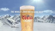 """This is """"Coors Light Never Stops Anthem"""" by Hurlbut Visuals on Vimeo, the home for high quality videos and the people who love them. Coors Light, Light Beer, Pint Glass, Commercial, Youtube, Farms, Marker, Homesteads, Markers"""
