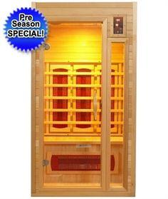 1-2 Person  Dynamic Far Infrared Sauna, Cindy 2 Edition
