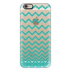 iPhone 6 Plus/6/5/5s/5c Case - Teal Ombre Chevron Transparent ($40) ❤ liked on Polyvore featuring accessories, tech accessories, phone, phone case, electronics, capas de iphone, iphone case, iphone cases, teal iphone case et apple iphone cases