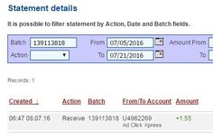 I am getting paid daily at ACX and here is proof of my latest withdrawal. This is not a scam and I love making money online with Ad Click Xpress. I WORK FROM HOME less than 10 minutes and I manage to cover my LOW SALARY INCOME. If you are a PASSIVE INCOME SEEKER, then AdClickXpress (Ad Click Xpress) is the best ONLINE OPPORTUNITY for you. No Scam Here