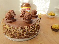 Ferrero rocher cake, Recette par Micheline06 - Ptitchef